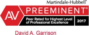 AV Preeminent Lawyer 2017